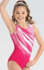 gk elite e3754 whisper gymnastics leotard