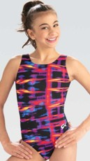 gk elite e3757 flash of fire gymnastics leotard