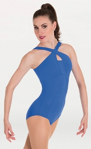 body wrappers p1171 cross over neck leotard