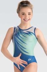 gk elite 10507 graceful twirl gymnastics leotard