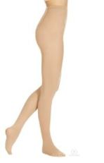 eurotard 215 euroskins microfiber footed tights