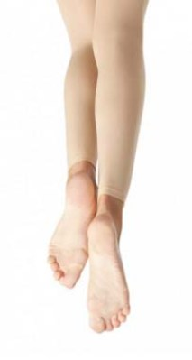 capezio n140 hold and stretch footless tights