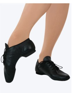capezio ej1 e-series jazz oxford split sole lace up jazz shoe