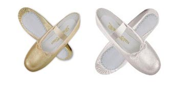Worship Dancewear - METALLIC SHOES